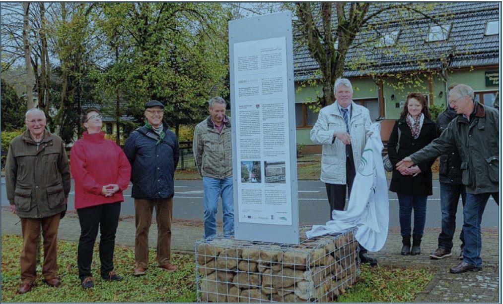 Vier Geopark-Stelen im Oberharz eingeweiht