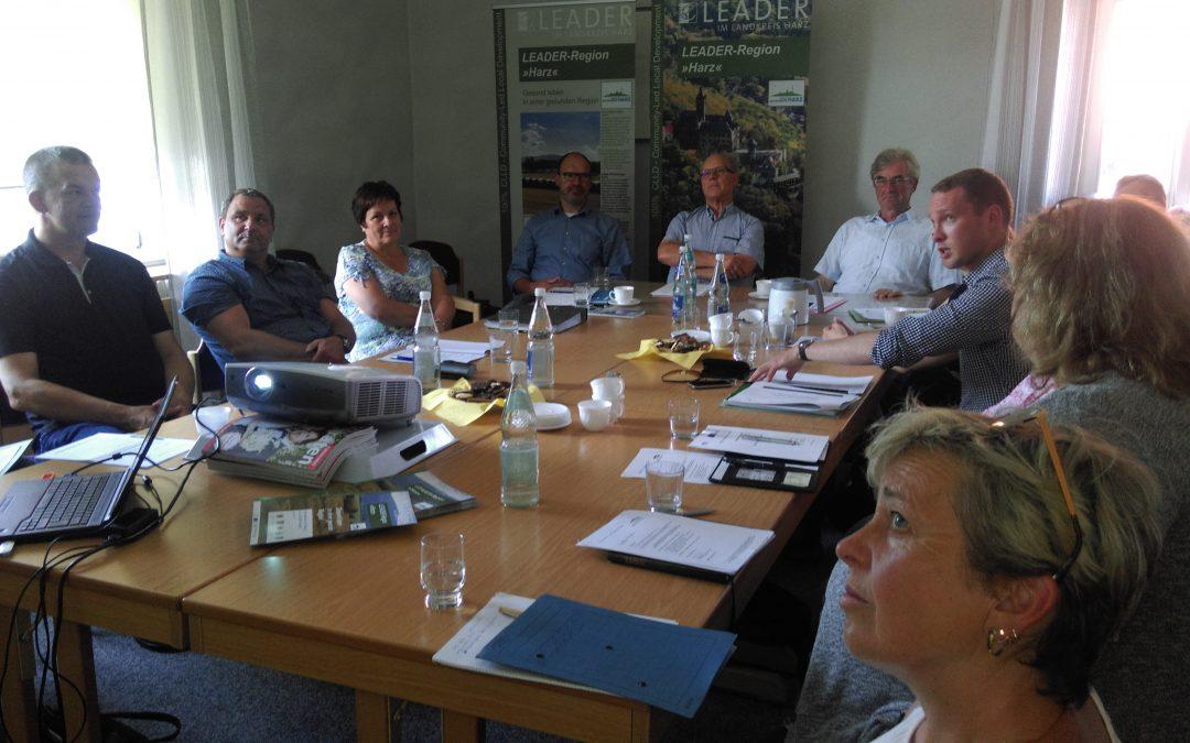 Steuerungsgruppe diskutiert über demografische Entwicklung in der Region